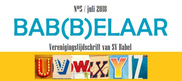 Bab(b)elaar #5 2017-2018